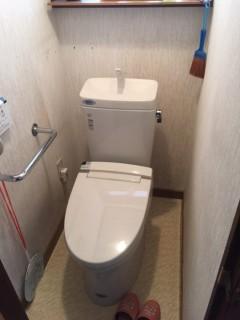 トイレ交換後 (2)