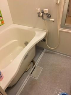 風呂排水つまり後