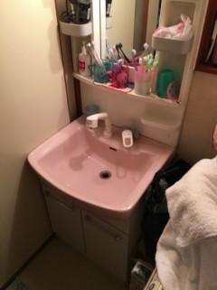 洗面水漏れ (2)